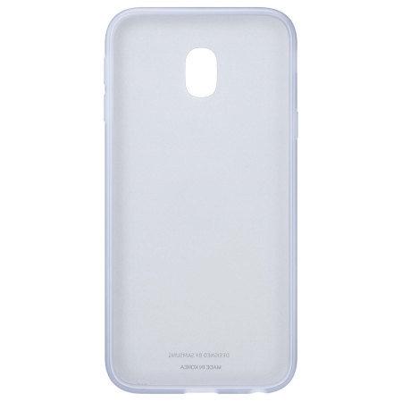 Калъф Samsung EF-AJ330TL JELLY COVER BLUE J3 (2017)